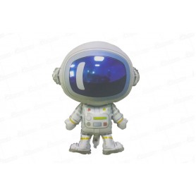 Globo Silueta Astronauta