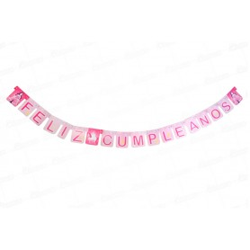 Letrero Feliz Cumpleaños Princesa