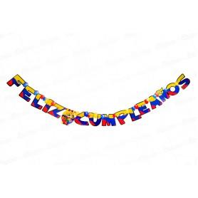 Letrero Feliz Cumpleaños CyM Chiva Colombia