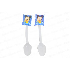 Cucharas Mickey Baby Paquete x20