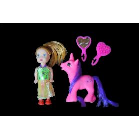 Estuche Muñeca y Pony