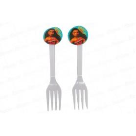 Tenedor Moana Paquete x20