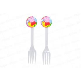 Tenedor Peppa Pig Paquete x20