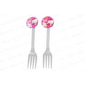 Tenedor Hello Kitty Paquete x20