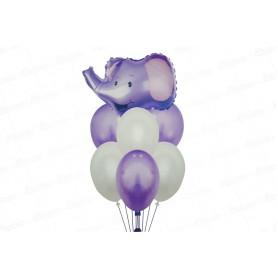 Globo Ramillete Elefante