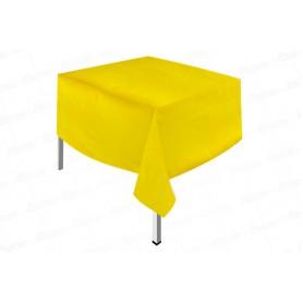 Mantel Plástico Fondo Entero Amarillo