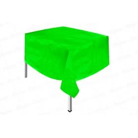 Mantel Plástico Verde Neón Dfiestas