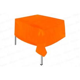 Mantel Plástico Naranja Neón Dfiesta