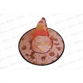 Sombrero Bruja Transparente