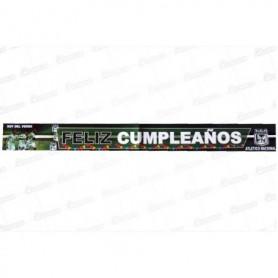 Letrero Feliz Cumpleaños Atletico Nacional
