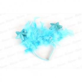 Tiara Estrellas con plumas