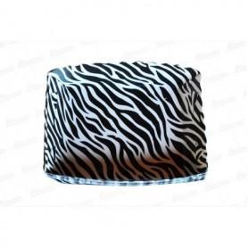 Tortera Cebra Negra Paquete x12