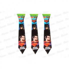 Corbata Batman Y Superman Paquete x12