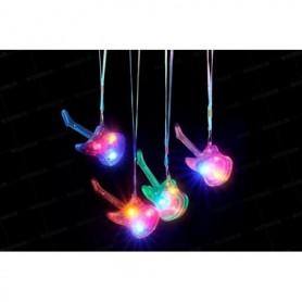 Collar Luz  Guitarra Colores Surtidos