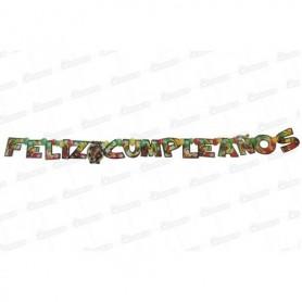 Letrero Feliz Cumpleaños CyM Jamaiquino