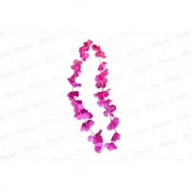 Collar Hawaiano Fucsia