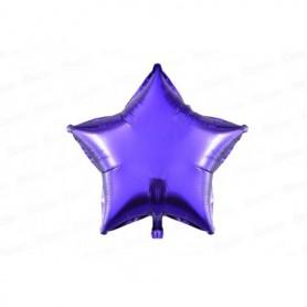 Globo Metalizado Estrella Morado