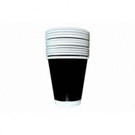 Vaso Negro Paquete x12