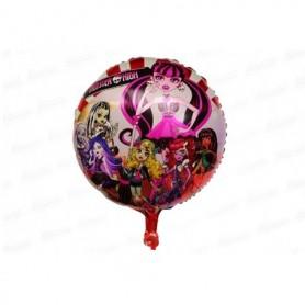 Globo Redondo Monster High