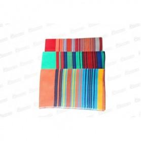 Poncho Mulera x1 Colores Surtidos