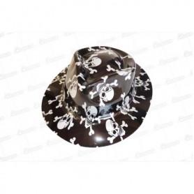 Sombrero Plástico Calavera