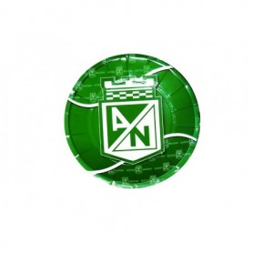 Plato Redondo Atlético Nacional paquete x12