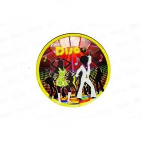 Plato redondo Disco paquete x12