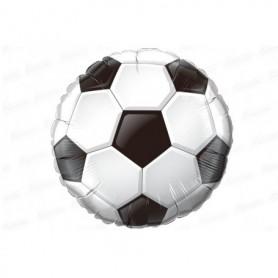 Globo Balón Metalizado Fútbol