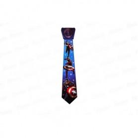 Corbata  Capitán América Paquete x12 JM