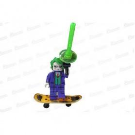 Muñeco Lego Guasón En Patineta
