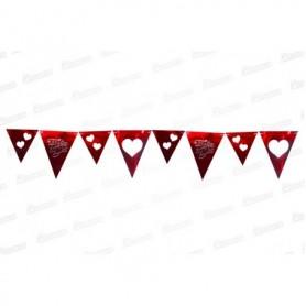 Banderín Felíz Dia Rojo
