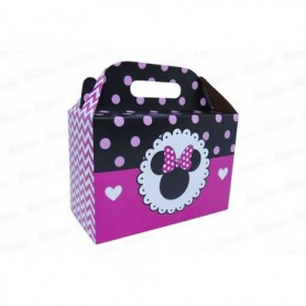 Caja de regalo Minnie x6