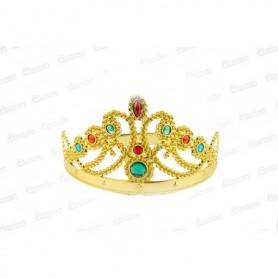 Corona Reina Dorada Grande