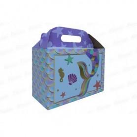 Caja de regalo Sirena x6