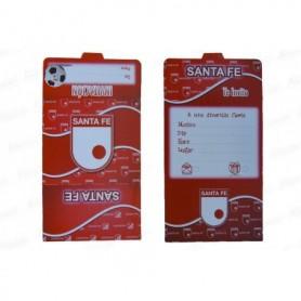 Tarjeta de Independiente Santa Fe Paquete x12