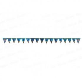 Banderín Feliz Cumpleaños Baby Shark