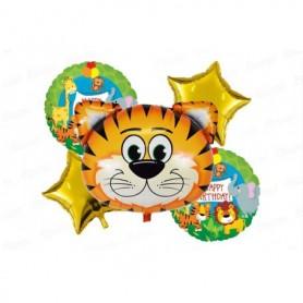 Globo Ramillete Tigre