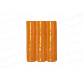 Serpentina Neon Naranja x3