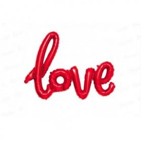 Globo Letrero Love Rojo