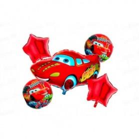 Globo Ramillete Cars