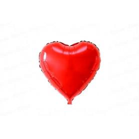 Globo Corazón Rojo