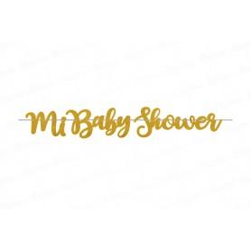 Letrero Escarchado Baby Shower