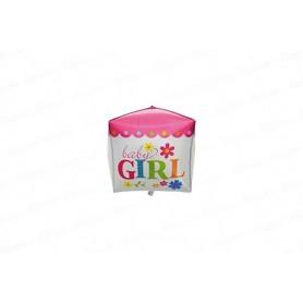 Globo Metalizado Baby Girl