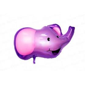 Globo Metalizado Pequeño Elefante