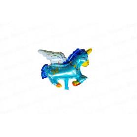 Globo Unicornio Pequeño Azul