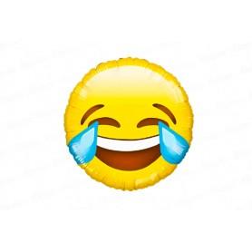 Globo Emoticones Carita Risa