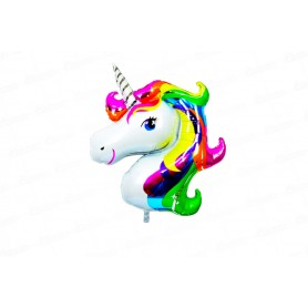 Globo Extragrande Metalizado Unicornio