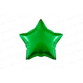 Globo Metalizado Estrella Verde