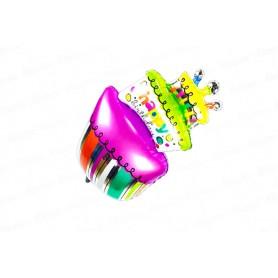 Globo Torta Happy Birthday