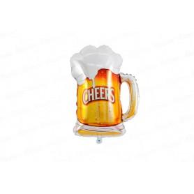 Globo Metalizado Cerveza